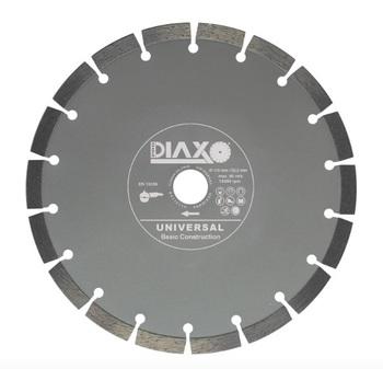 5 Disques diamantés 125mm Universal Basic construction Prodiaxo pour béton non armé