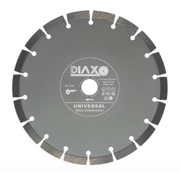 3 Disques diamantés 230mm Universal Basic construction Prodiaxo pour béton non armé