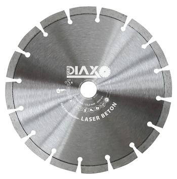 Disques diamantés Laser Beton Pro construction Diaxo pour béton armé