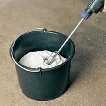Seau de maçon - PE noir 12L Solid