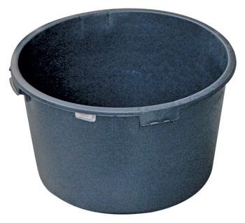 Cuvelle à mortier - PE noir Solid