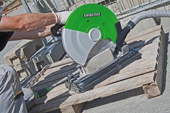 Scie circulaire pour pierre 2400W avec limiteur de courant Eibenstock