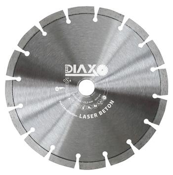 5 Disques diamantés 125mm Laser Beton Pro construction Prodiaxo pour béton armé