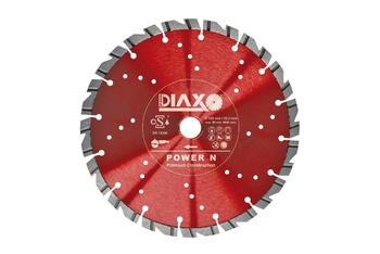 Disques diamantés Power N Premium construction Diaxo pour béton armé