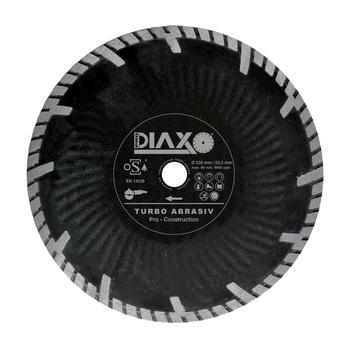 Disques diamantés Turbo Abrasiv Pro construction Diaxo pour briques tendres/asphalte
