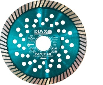 Disques diamantés Panther Premium Granite/construction Diaxo pour carrelages durs