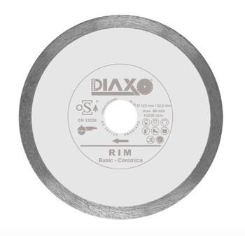 Disque diamanté 125mm Rim Basic Ceramics Prodiaxo pour carrelages murales en céramiques