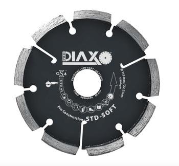 Fraises à déjointoyer 125mm STD - Soft Pro construction pour joints tendre Prodiaxo