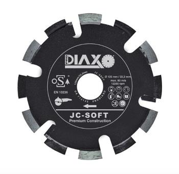 Fraises à déjointoyer 125mm JC - Soft Premium construction pour joints tendre Prodiaxo