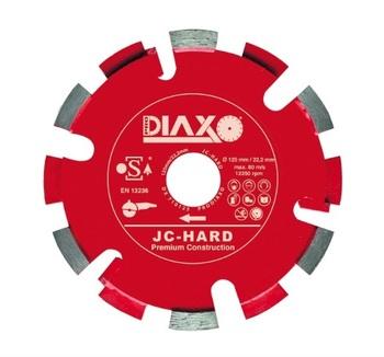 Fraises à déjointoyer 125mm JC - Hard Premium construction pour joints durs Prodiaxo