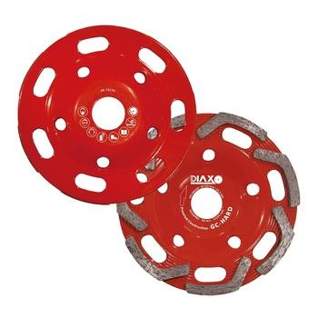 Disque à surfacer 125mm GC - Hard Premium construction pour matériaux durs Prodiaxo
