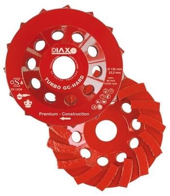 Disque à surfacer 125mm Turbo GC - Hard Premium construction pour béton dur Prodiaxo