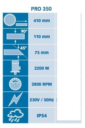 Tronçonneuse diamantée électrique Pro 350 Prodiaxo
