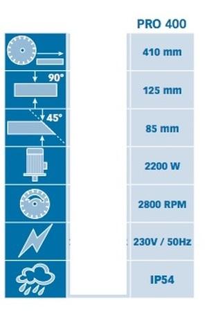 Tronçonneuse diamantée électrique Pro 400 Prodiaxo