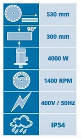 Tronçonneuse diamantée électrique Manta TP Pro 750 Prodiaxo