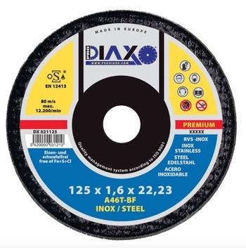 Disque à tronçonner INOX/ACIER Premium construction Prodiaxo