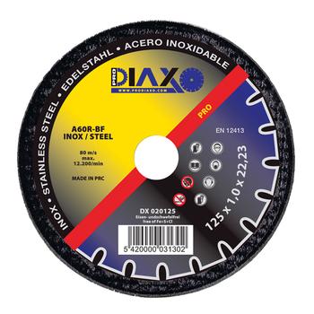10 Disques à tronçonner INOX/ACIER Pro construction Prodiaxo en box alu