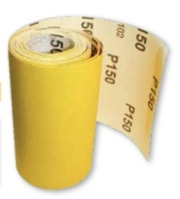Papiers à ponçer Jaune minirouleau 5mx115mm Prodiaxo
