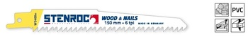 5 Lames de scie Wood&Nails WS400BI 300mm Stenroc