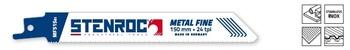 5 Lames de scie Metal Fine MF515BI 150mm Stenroc