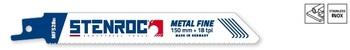 5 Lames de scie Metal Fine MF528BI 150mm Stenroc