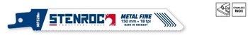 20 Lames de scie Metal Fine MF528BI 150mm Stenroc
