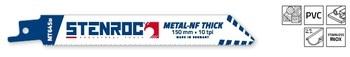 5 Lames de scie Metal-NF Thinck MT645BI 150mm Stenroc