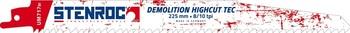 3 Lames de scie Demolition Highcut Tec UM717BI 225mm Stenroc