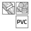 5 Lames de scie sauteuse pour bois WS140CV Stenroc