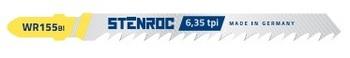 5 Lames de scie sauteuse pour bois WR155BI Stenroc