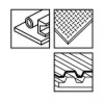 5 Lames de scie sauteuse pour métal MF230BI Stenroc