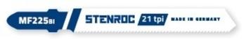 5 Lames de scie sauteuse pour métal MF225BI Stenroc