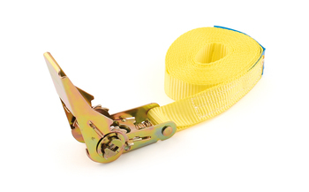 Sangle type ceinture avec tendeur à cliquet simple - 25 mm x 5 m