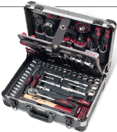 VALISE D'OUTILS UNIVERSELS BASIC-LINE