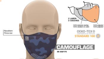 Masque de protection buccal réutilisable