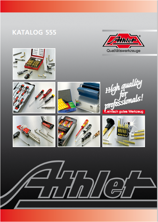 ATHLET catalogue 2016